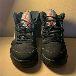 Nike Air Jordan 5 OG '90 BlackMetallic Silver 2016